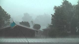 preview picture of video 'Unwetter bei Kronau 06.08.2013 teil2'