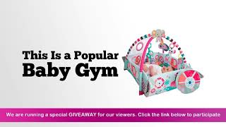 Bright Starts 5 In 1 Your Way Ball Play Activity Gym Pink Review