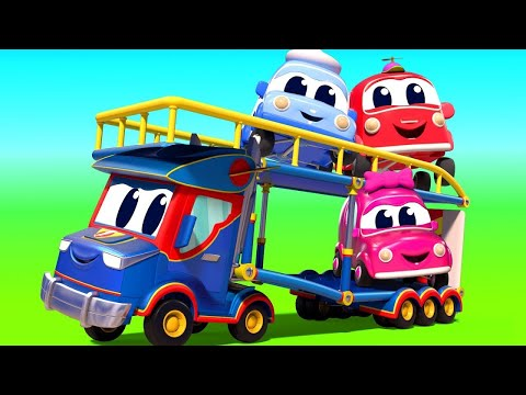 🔴 Автомобильный Город - мультфильмы для детей - Live Stream 🔴 видео