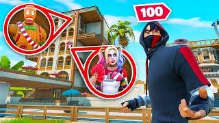 100 Player Fortnite Hide & Seek!