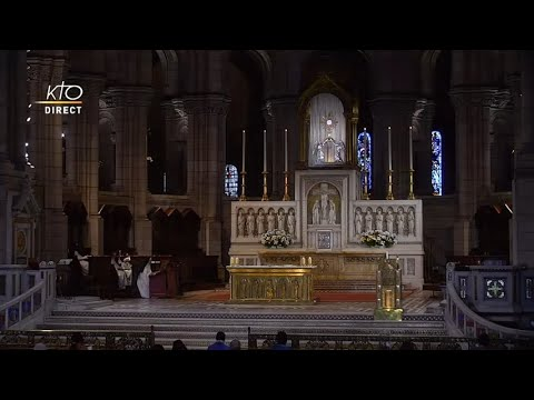 Prière du Milieu du jour du 29 septembre 2021 des Bénédictines du Sacré-Coeur de Montmartre