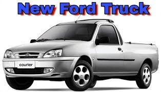 New Compact Ford Pickup