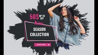 how to make fashion ad design in coreldraw X6 , X7 , X8