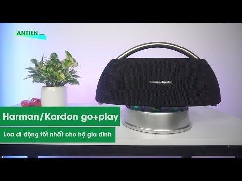 Harman Kardon Go Play : Chiếc loa di động tốt nhất cho gia đình