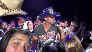 Tim McGraw   Meanwhile Back At Mama's [Live] 6.7.2014   Noblesville, IN (Indianapolis)