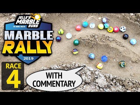 Sand Marble Rally 2019 Race 4 - Jelle's Marble Runs