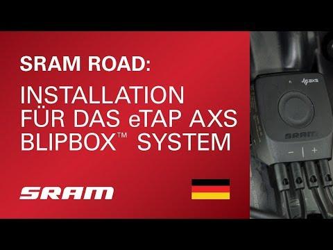 Installation fur das eTap AXS™ BlipBox™ System