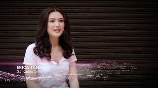 Erica Tan finalist Miss Universe Malaysia 2017 Introduction