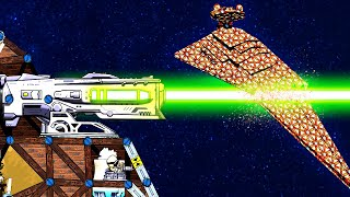 Biggest Laser Ever Created Obliterates the Star Destroyer in Forts Star Wars!