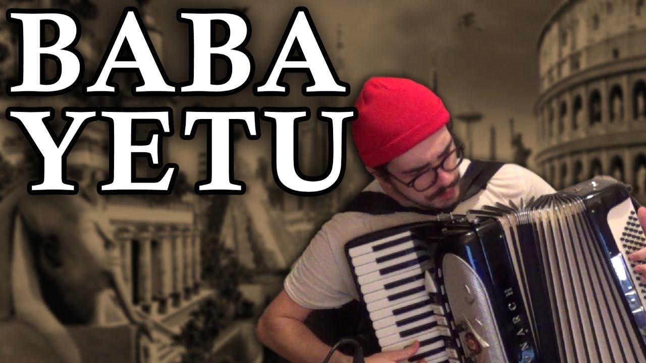 Baba Yetu [accordion cover] - YouTube