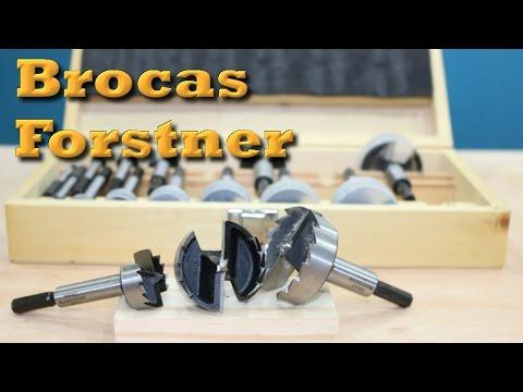 Broca Forstner - Brocas especiais para madeira