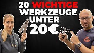 20 kleine aber wichtige Helferlein unter 20€ die in der Werkstatt nicht fehlen dürfen!