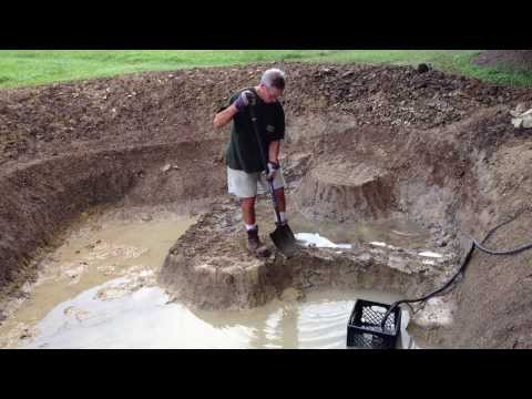 Fishing Pond Expansion – Digging is Done!