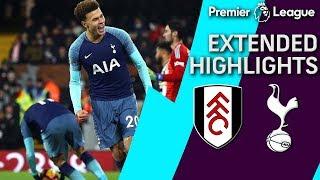 Fulham v. Tottenham | PREMIER LEAGUE EXTENDED HIGHLIGHTS | 1/20/19 | NBC Sports