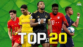Top 20 Fastest Football Players 2020