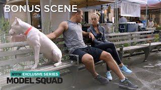 Hannah Ferguson Has Mini Therapy Session With Boyfriend | Model Squad | E! - Video Youtube