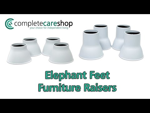 Elephant Feet - Furniture Raisers