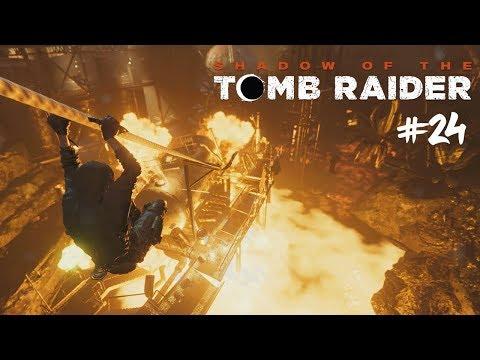 Lara je jako TERMINÁTOR! #24 [Shadow of the Tomb Raider]