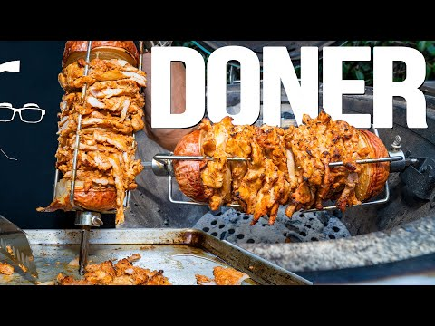 CHICKEN DONER KEBAB AT HOME! | SAM THE COOKING GUY 4K