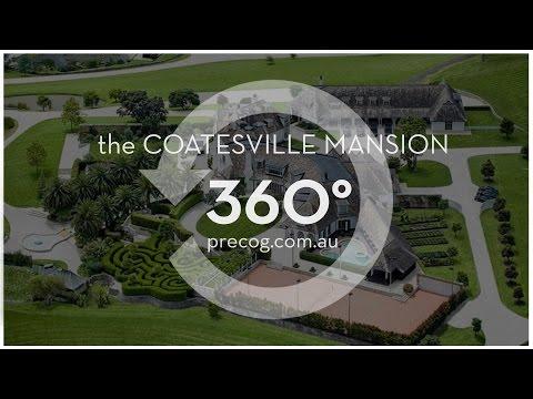 Take A 360-Degree Tour Of Kim Dotcom's NZ Mansion
