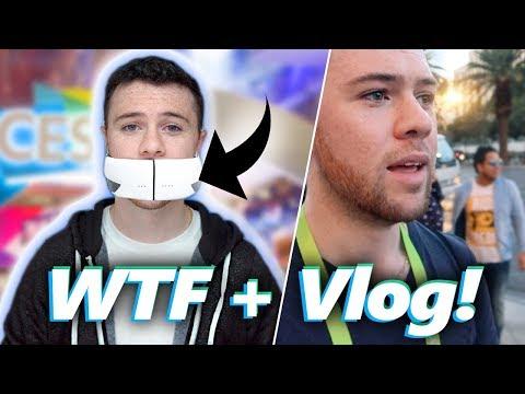 WTF Tech @ CES 2018 + My Vlog (видео)