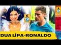 Download Lagu Dua Lipa'nın kendisini görmeyen Ronaldo'ya tepkisi/Dua Lipa's reaction when Ronaldo doesn't see her Mp3 Free