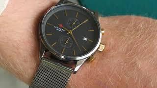 Sem Lewis Metropolitan Northwick Park chronograph men's watch gunmetal/gunmetal