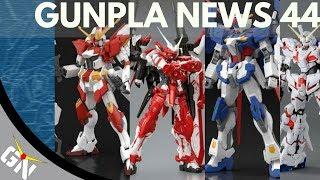 Gunpla News 44: MetalBuild Crossbone: Unicorn, Astray Turn Red, Glitter, M91