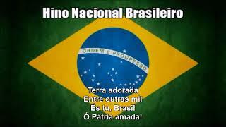 National Anthem of Brazil (Hino Nacional Brasileiro) - Nightcore Style With Lyrics