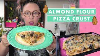 Almond Flour Pizza Crust