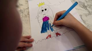 Развивающие видео для детей. Урок рисования для детей. Painting. Уроки рисования для малышей