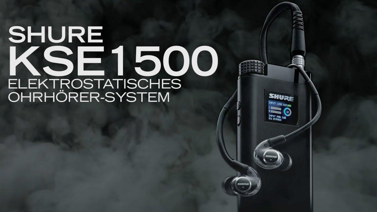 Shure KSE1500 elektrostatisches Ohrhörer-System