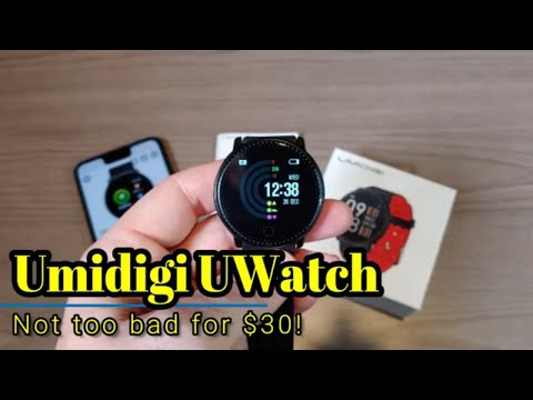 Umidigi UWatch - Fitness tracker and smartwatch for only $30!