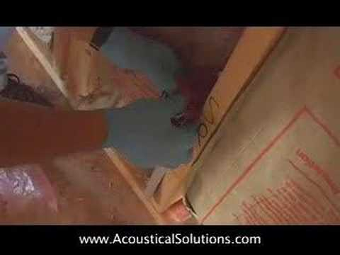 Sound Barrier Install Video: How to Soundproof a Wall