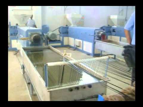 Plastic Granules Making Machine