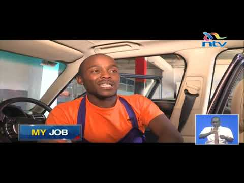 My Job: Lack of money motivates Peter Gatiri to be a detailed car wash attendant