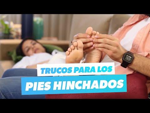 Imagem ilustrativa do vídeo: Tratamiento casero para los tobillos hinchados