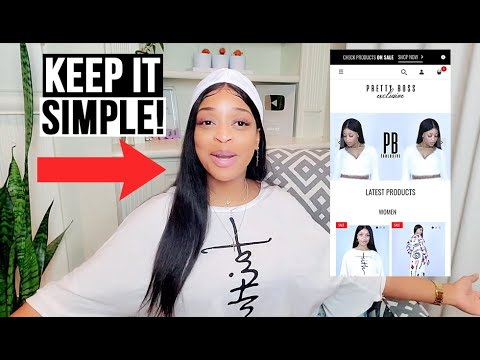 How to Start an Online Boutique in 2020 | IN 5 SIMPLE STEPS!