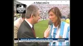 Claudio Caniggia Goles En Seleccion Argentina 1987 A 1994 FUTBOL RETRO TV