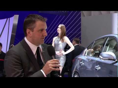 INFINITI Product Manager Gert talks about the new Q50,RedBull Racing,the brand @ Geneva Motor Show