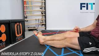 Inwersja stopy z gumą – CC003