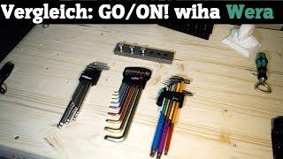 Inbusschlüssel Vergleichstest - GO/ON! - Wiha - Wera