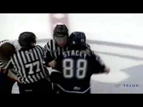 Trevor Stacey vs. Adam Chapman