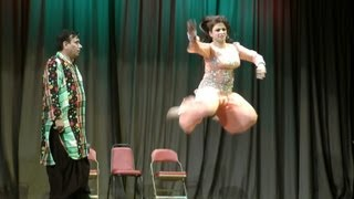 Nida Choudhry's Dance in Jamshed Riaz's HELLO DARLING Comedy Show
