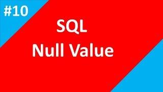NULL Value in sql   Part 10   SQL tutorial for beginners   Tech Talk Tricks