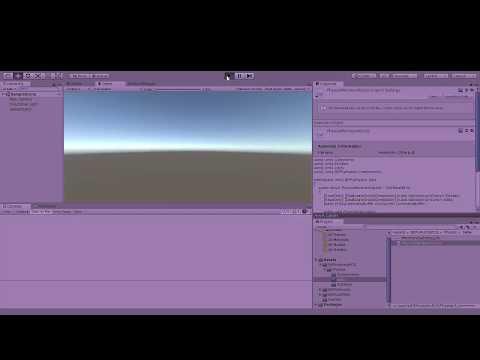 Unity ECS fully parallel 2d physics demo with burst - смотреть