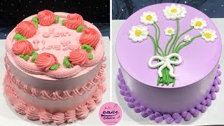 So Yummy Cake Decorating Ideas For Beginner | Easy Cake Design For Birthday | Image Cake Compilation