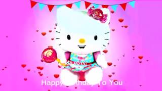 Hello Kitty Song -  Kids Songs And Baby Song | Happy Birthday Song