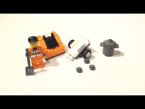 Vidéo LEGO City 5611 : L'éboueur