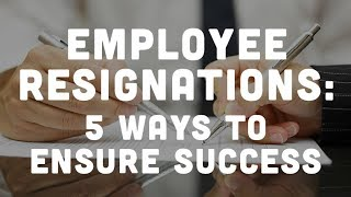 Handling Resignation-Based Unemployment Claims: 5 Ways to Ensure Success